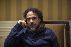 "Mexican film director Alejandro Gonzalez Inarritu poses for a portrait while promoting his upcoming movie ""Birdman"" in Los Angeles, California in this file photo taken on December 16, 2014.  REUTERS/Mario Anzuoni"