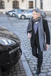 El director Roman Polanski  deja una conferencia de prensa en Krakow. Imagen de archivo, 15 enero, 2015.  El director de cine Roman Polanski asistirá la próxima semana a una audiencia judicial en Polonia que estudiará una solicitud de extradición a Estados Unidos por una condena sobre un delito de abuso sexual a una menor en 1977, dijo el martes su abogado. REUTERS/Michal Lepecki/Agencja Gazeta