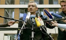 Porta-voz do ministério alemão das Finanças,Martin Jaeger, em foto de arquivo. 25/07/2007  REUTERS/Arnd Wiegmann