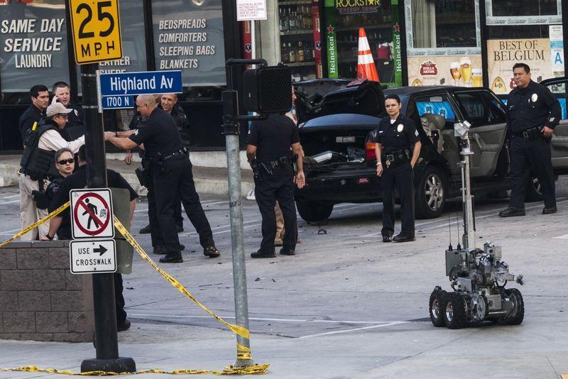 Ameaça falsa de bomba perto de local da cerimônia do Oscar provoca...