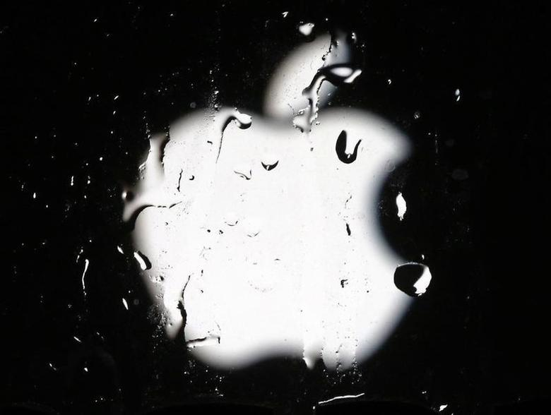 A logo of Apple is seen in this September 23, 2014 illustration photo in Sarajevo.  REUTERS/Dado Ruvic