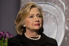 Ex-secretária de Estado norte-americana Hillary Clinton. 21/11/2014  REUTERS/Brendan McDermid