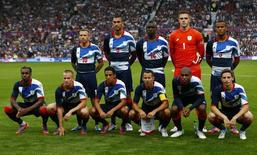 Seleção britânica de futebol nos Jogos de Londres 2012. 26/07/2012 REUTERS/Eddie Keogh
