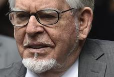 Entertainer Rolf Harris arrives for sentencing at Southwark Crown Court in London July 4, 2014. REUTERS/Toby Melville