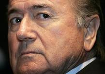 Presidente da Fifa, Joseph Baltter. 17/11/2005 REUTERS/Siggi Bucher