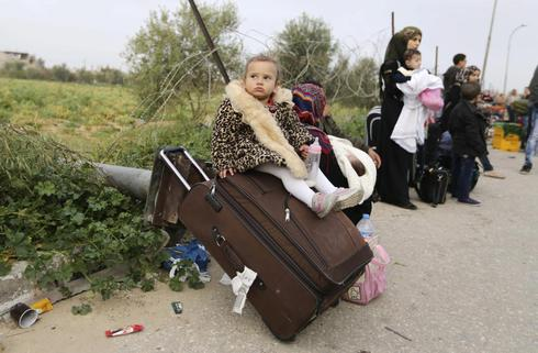Fleeing Gaza