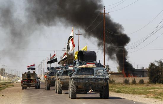アングル:対イスラム国の最前線へ、イラクで蘇る過去の兵器