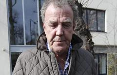 Television presenter Jeremy Clarkson leaves an address in London, March 11, 2015.   REUTERS/Peter Nicholls