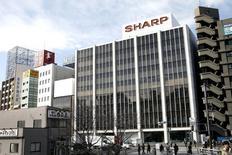 Sharp a annoncé vendredi qu'il n'envisageait pas de se retirer du secteur des piles solaires et de l'éclairage LED domestique, /Photo d'archives/REUTERS