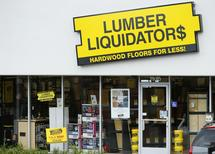 A Lumber Liquidators retail store is shown in San Diego, California March 2, 2015.  REUTERS/Mike Blake