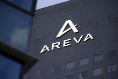 Areva étudie les conditions d'une entrée à son capital d'investisseurs étrangers et notamment chinois, rapporte lundi le quotidien Les Echos. /Photo prise le 27 février 2015/REUTERS/Philippe Wojazer