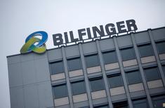 La sede de la firma de ingeniería y servicios Bilfinger en Mannheim, Alemania, ene 21 2013. La atribulada firma alemana de ingeniería y servicios Bilfinger admitió el jueves que habría pagado hasta 1 millón de euros (1,1 millones de dólares) en sobornos para obtener contratos en Brasil.  REUTERS/Lisi Niesner