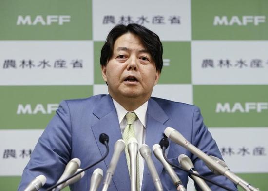 台湾で日本食品回収との報道、事実関係を確認中=林農相
