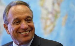 Murilo Ferreira, presidente-executivo da  Vale, durante entrevista à Reuters no Rio de Janeiro.  10/02/2015    REUTERS/Sergio Moraes