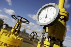 Датчик давления на газовой станции Gaz-System близ Варшавы 13 октября 2010 года. Зависимость Европы от импортного газа повысится на 50-75 процентов в два ближайших десятилетия, и Россия продолжит поставлять Европе около 30 процентов потребляемого газа, сказал главный экономист BP Спенсер Дейл. REUTERS/Kacper Pempel