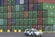 Porto de Felixstowe, no sul da Inglaterra. 07/01/2015  REUTERS/Toby Melville