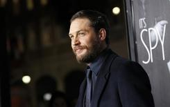 Tom Hardy durante evento em Hollywood.  08/02/2012   REUTERS/Mario Anzuoni