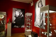 Pieces from 'The Lauren Bacall Collection' are seen during a press preview at Bonhams' Madison Avenue gallery in New York, in this file photo taken March 24, 2015.  REUTERS/Shannon Stapleton/Files