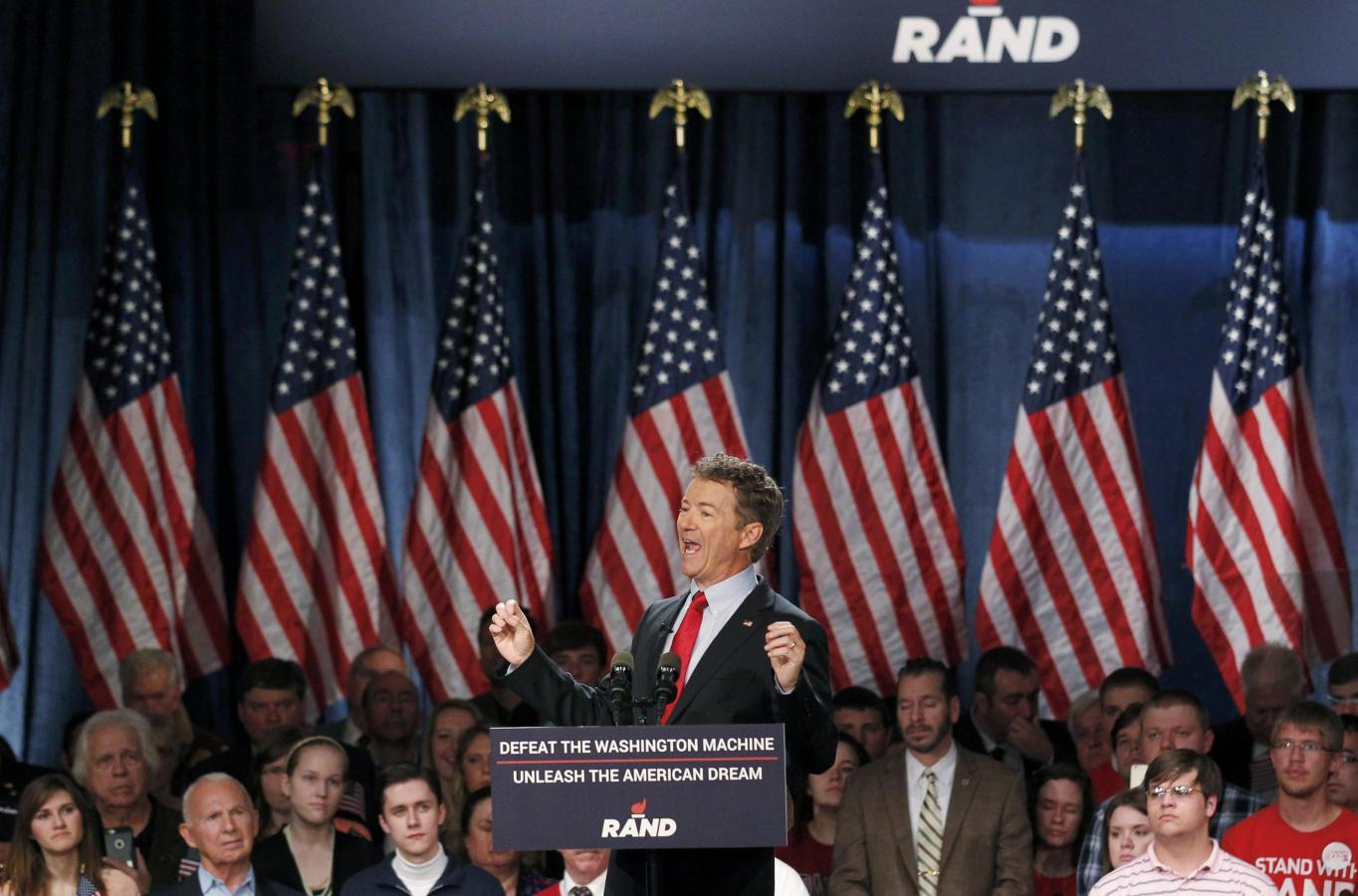 Rand Paul criticizes fellow Republicans as he launches White House bid