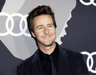 Actor Edward Norton poses during Audi Celebrates Golden Globes Week 2015 event in West Hollywood, California January 8, 2015. REUTERS/Kevork Djansezian