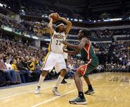 Jogador do Indiana Pacers Chris Copeland, em foto de arquivo. REUTERS/Brian Spurlock/USA TODAY Sports