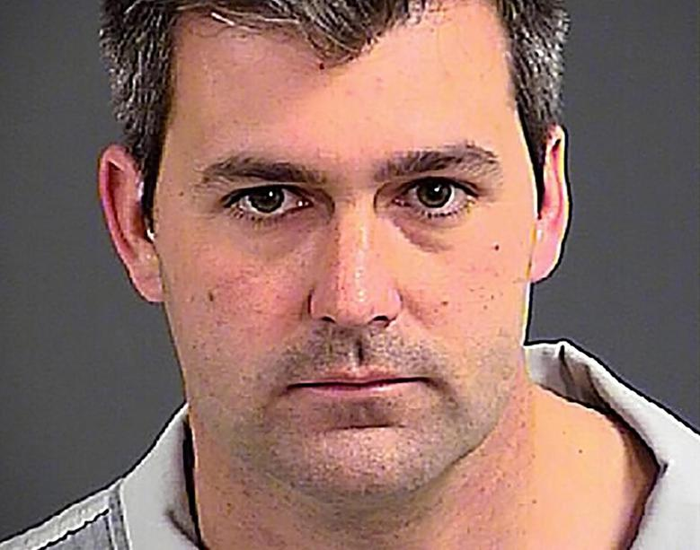North Charleston police officer Michael Slager is seen in an undated photo released by the Charleston County Sheriff's Office in Charleston Heights, South Carolina.  REUTERS/Charleston County Sheriff's Office/Handout