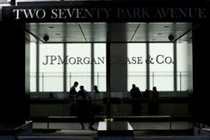 Sede do banco JPMorgan Chase & Co, em Nova York.   25/08/2013  REUTERS/Eduardo Munoz