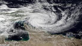 """""""Isis"""", un des acronymes anglais du groupe djihadiste Etat islamique, a été retiré de la liste officielle des noms de cyclones définie par les Nations unies, a annoncé l'Organisation météorologique mondiale, qui dépend de l'Onu. /Image satellite prise le 10 avril 2014 au-dessus du Queensland, en Australie/REUTERS/NOAA"""