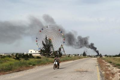 Militants capture Syrian army base