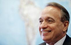 Murilo Ferreira, presidente da mineradora Vale, foi eleito nesta quarta-feira presidente do Conselho de Administração da Petrobras  10/02/ 2015.  REUTERS/Sergio Moraes