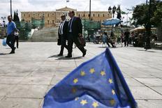 Atenas, prédio do Parlamento ao fundo. 11/5/2015 REUTERS/Alkis Konstantinidis