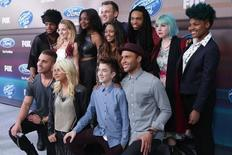 The twelve American Idol XIV finalists attend Fox's American Idol XIV Finalist Party at The District Restaurant in Los Angeles, California March 11, 2015.    REUTERS/Jonathan Alcorn