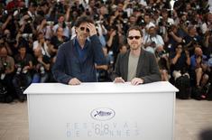 Irmãos Joel (E) e Ethan Coen, que presidem o júri do Festival de Cannes, no sul da França. 13/5/2015 REUTERS/Eric Gaillard