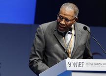 President of the Islamic Development Bank Ahmad Mohamed Ali addresses the World Islamic Economic Forum in London October 29, 2013. REUTERS/Luke MacGregor