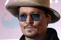 Ator Johnny Depp em Tóquio. 28/01/2015 REUTERS/Toru Hanai