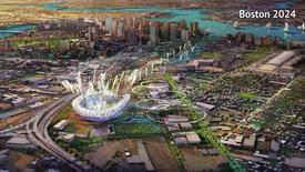 A proposed Olympic Stadium in Boston, Massachusetts is seen in this handout image made available January 21, 2015 by the Boston2024 group, which is organizing Boston's bid to host the 2024 Summer Olympics. REUTERS/Boston2024/Handout via Reuters  ATTENTION EDITORS - THIS IMAGE HAS BEEN SUPPLIED BY A THIRD PARTY. IT IS DISTRIBUTED, EXACTLY AS RECEIVED BY REUTERS, AS A SERVICE TO CLIENTS. FOR EDITORIAL USE ONLY. NOT FOR SALE FOR MARKETING OR ADVERTISING CAMPAIGNS