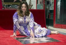 "Actress Melissa McCarthy receives a star on the ""Hollywood Walk of Fame"" in Los Angeles, California May 19, 2015. REUTERS/Phil McCarten"