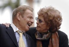 Jerry Stiller e Anne Meara, que morreu no fim de semana, aos 85 anos. 09/02/2007 REUTERS/Phil McCarten