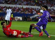 Goleiro do Sevilla Sergio Rico, convocado para a seleção espanhola. 07/05/2015 REUTERS/Marcelo del Pozo