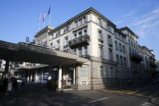 Hotel Baur au Lac hotel, em Zurique, na Suíça. 27/05/2015 REUTERS/Arnd Wiegmann