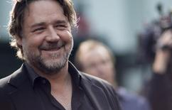Diretor Russel Crowe durante evento em Hollywood. 16/4/2015.   REUTERS/Mario Anzuoni
