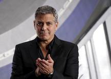 George Clooney durante evento em Tóquio.   25/05/2015  REUTERS/Toru Hanai