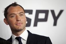"Cast member Jude Law arrives for the movie premiere of ""Spy"" in the Manhattan borough of New York, United States June 1, 2015. REUTERS/Carlo Allegri"