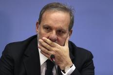 Ministro do Desenvolvimento, Indústria e Comércio Exterior, Armando Monteiro, em Brasília 3/3/2015 REUTERS/Ueslei Marcelino