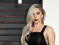 Lady Gaga, durante festa da revista Vanity Fair, em Beverly Hills.    23/02/2015     REUTERS/Danny Moloshok