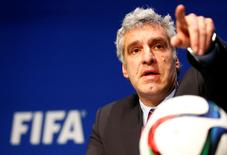 Walter de Gregorio, diretor de Comunicações da Fifa, em foto de arquivo. 27/05/2015 REUTERS/Ruben Sprich