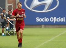 Jogador Paolo Guerrero, da seleção peruana 8/6/2015 REUTERS/Paco Chuquiure