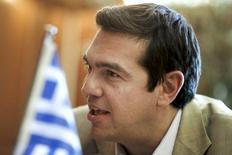 Primeiro-ministro da Grécia, Alexis Tsipras, durante encontro em Atenas.   08/06/2015   REUTERS/Alkis Konstantinidis