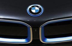 Logo da BMW visto em evento em Bruxelas.  23/01/2015    REUTERS/Yves Herman