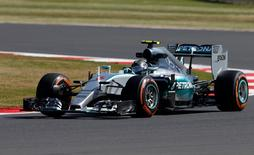 Formula One - F1 - British Grand Prix 2015 - Silverstone, England - 3/7/15 Mercedes Nico Rosberg of Germany during practice Reuters / Andrew Yates Livepic